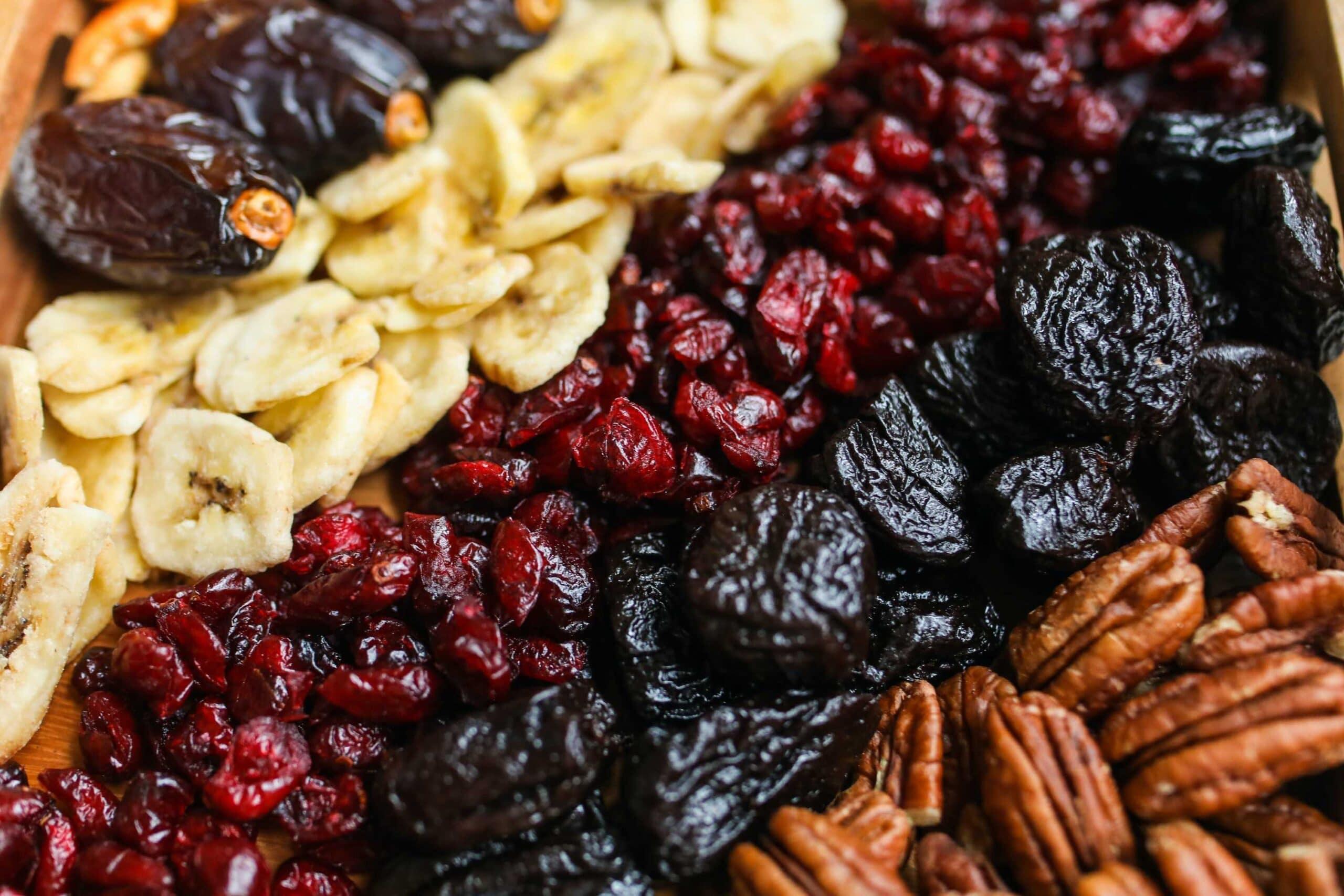 kinds- dried fruits