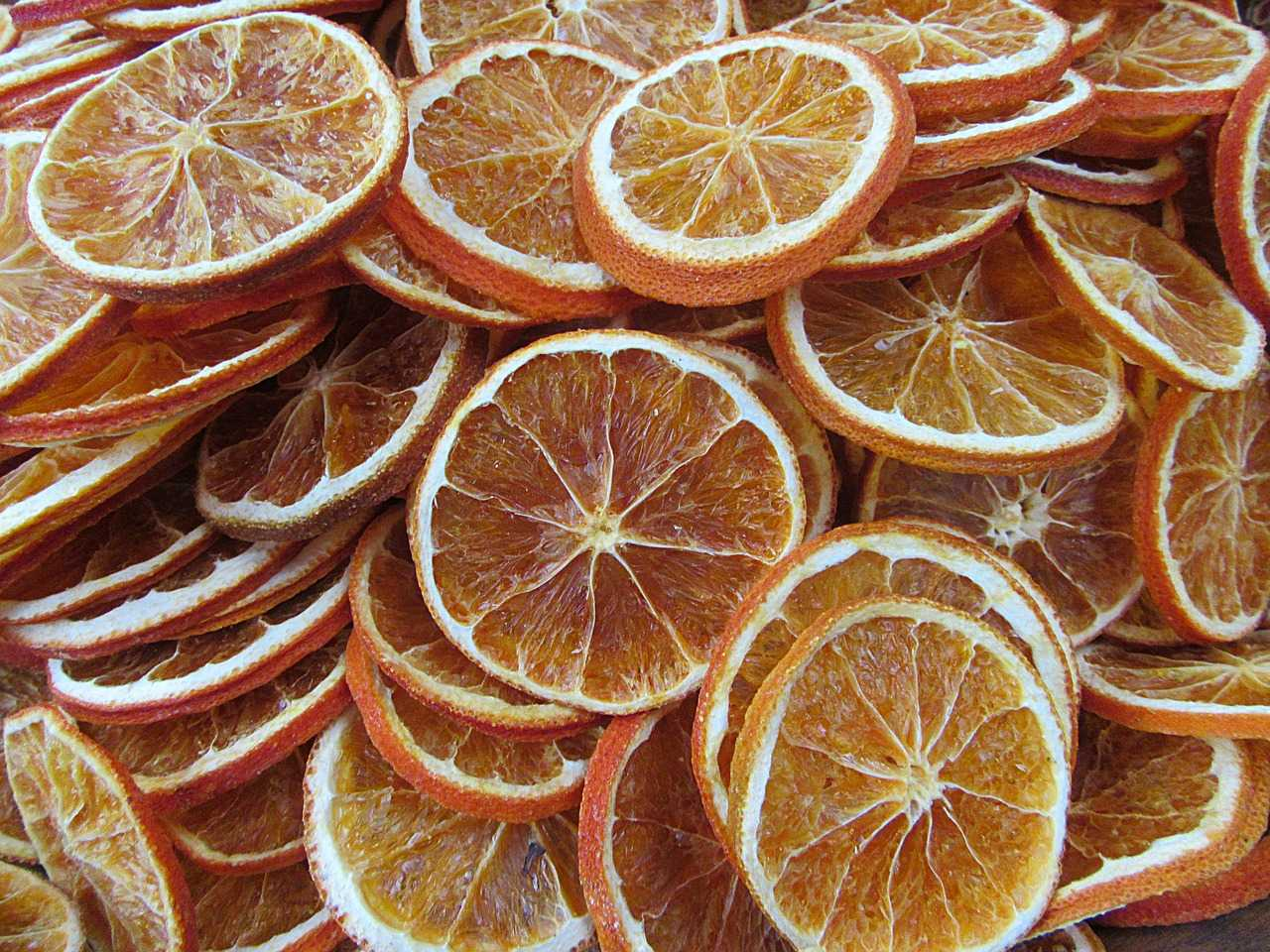 Dehydrate Citrus Fruits